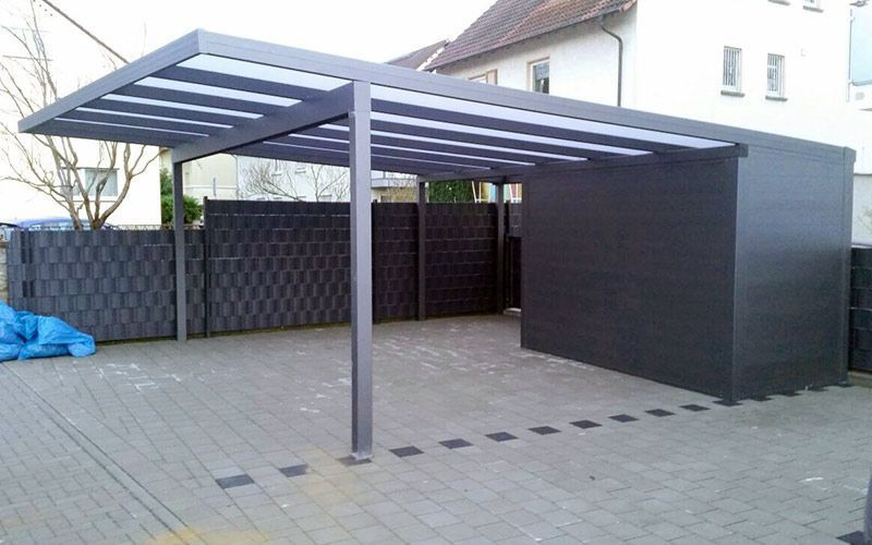 Glass Huts Garage With Scales Glass Huts Garage With Scales When Old Within Notion A Per In 2020 Carport Designs Pergola Carport Pergola