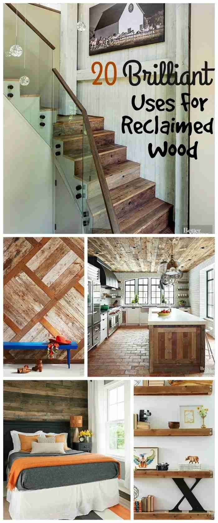 Diy home decor wood  Inspiring DIY Home Decor Ideas  Woods Small space decorating and