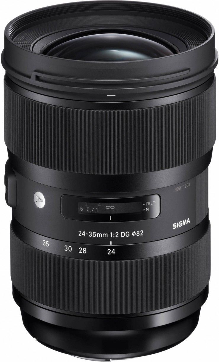 Sigma\'s New 24-35mm f/2 is the Fastest Full-Frame Zoom Lens Ever ...