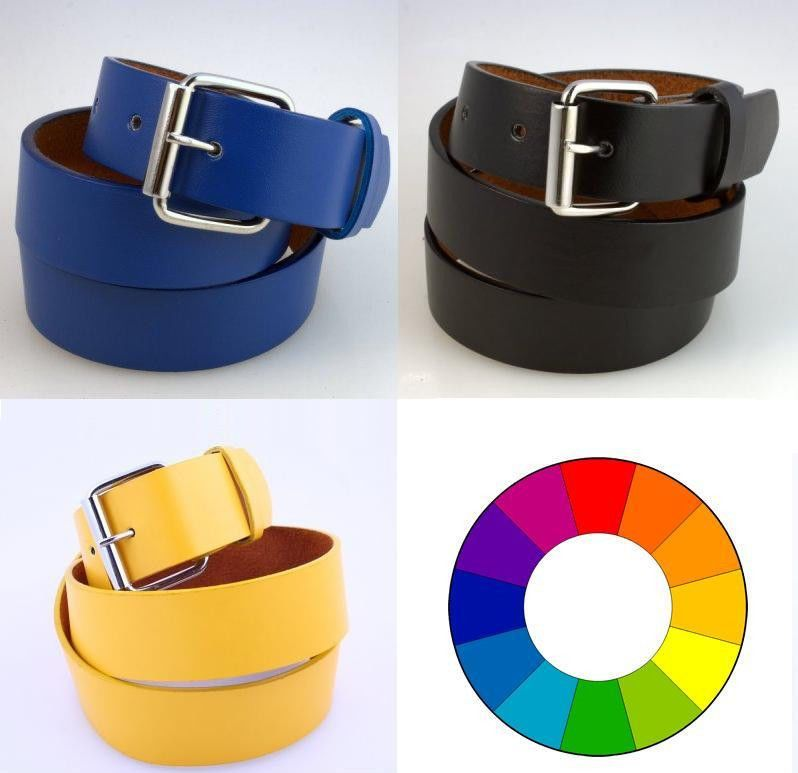 Unisex Men/'s Womens New Plain Leather Belt Snap-On Removable Roller Buckle Solid