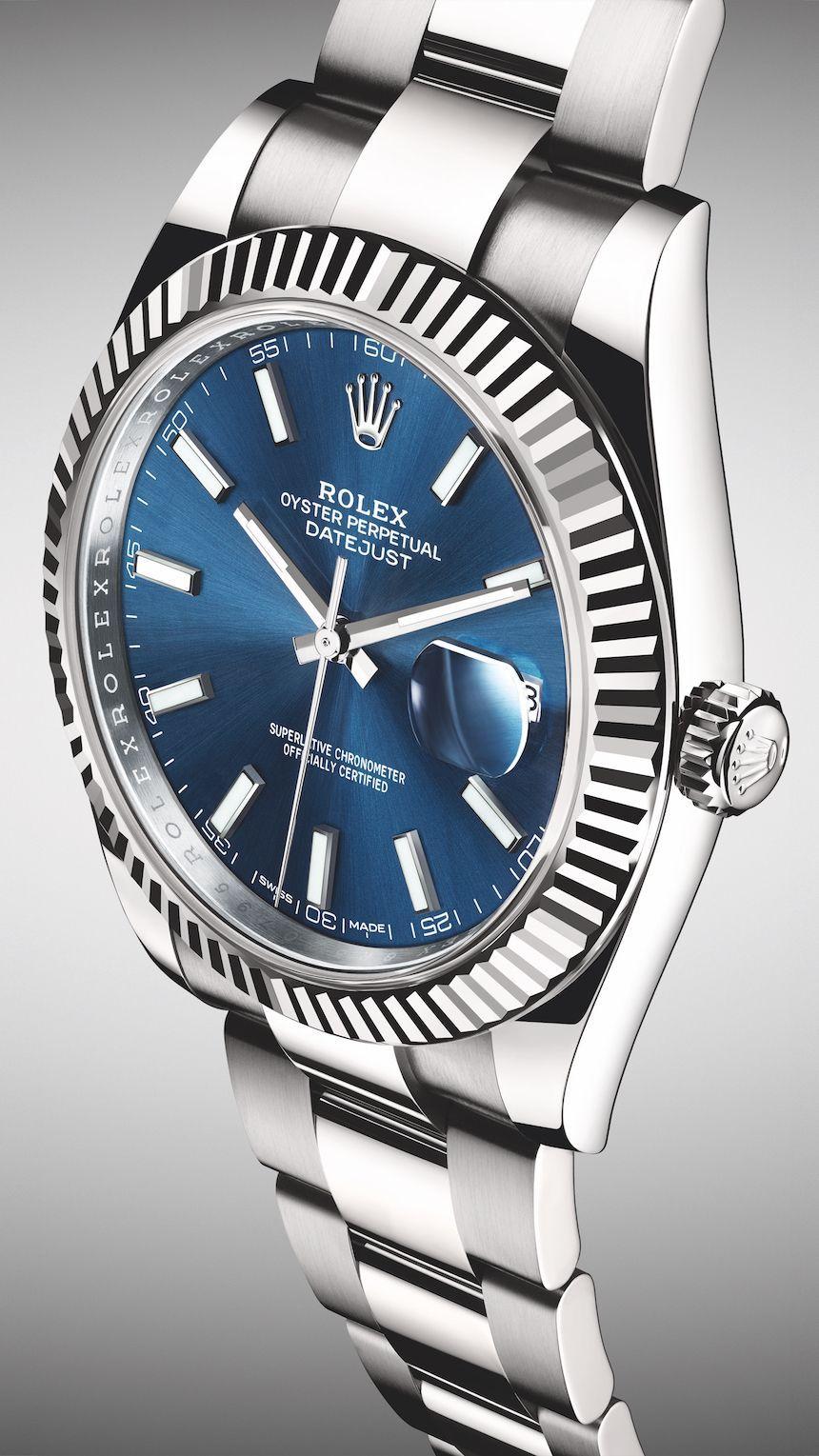 Rolex Datejust 41 126334 Collection  #rolexwatches