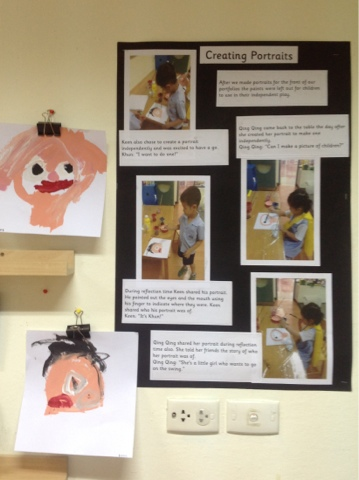 Documenting children's learning play based inquiry