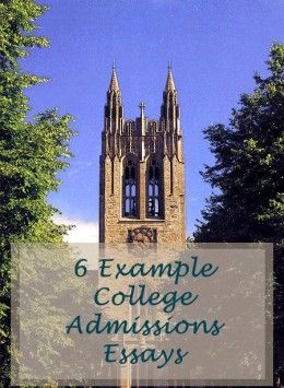 College Application Essay Examples   Colleges, Boston and Essay ...