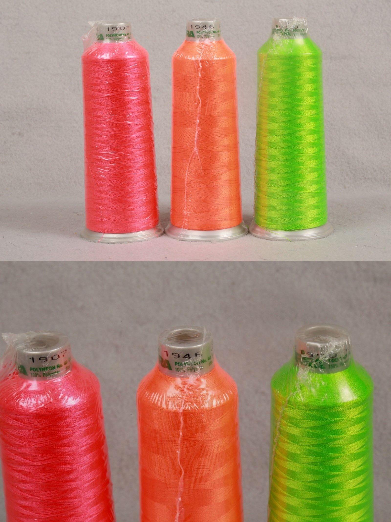 Machine Bobbins And Thread 83920 3 New Sealed Madeira Polyester