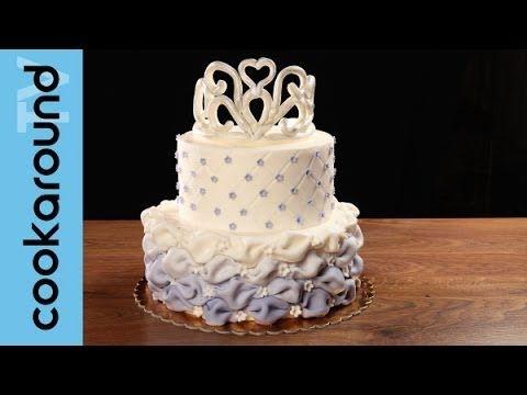 Una torta da principessa con pasta di zucchero: tutorial! - YouTube