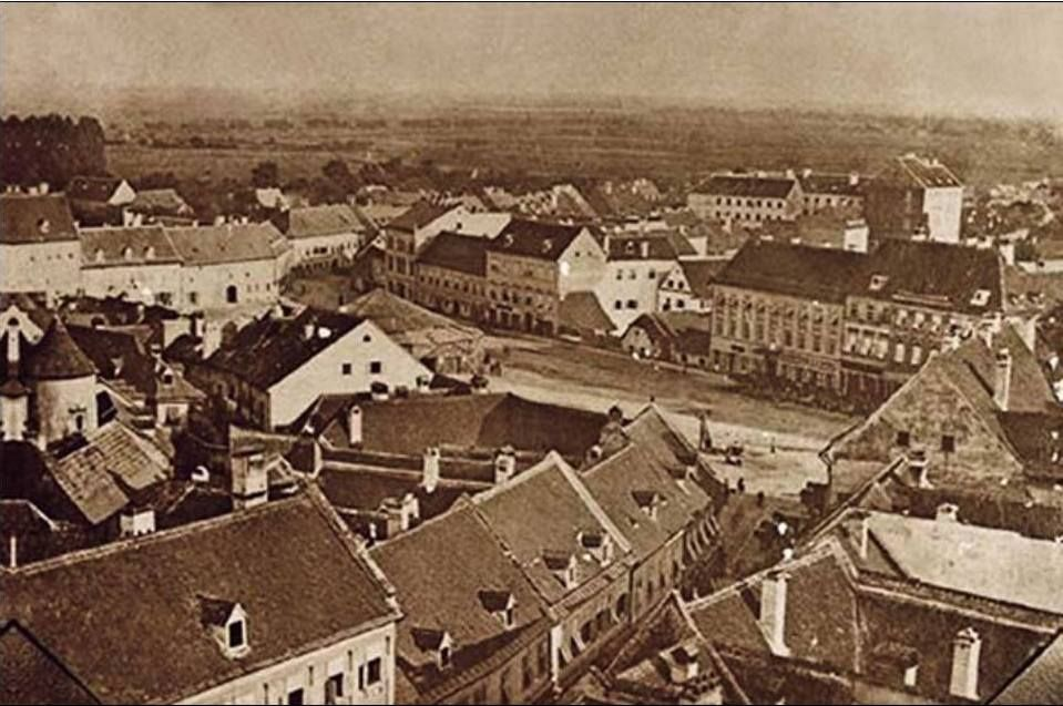 Here Is A Small Collection Of 17 Rare Vintage Photos Of Zagreb Before The 1900s Hotel Pruckner Zagreb 1844 Harmica Zag Zagreb Vintage Photos Photo
