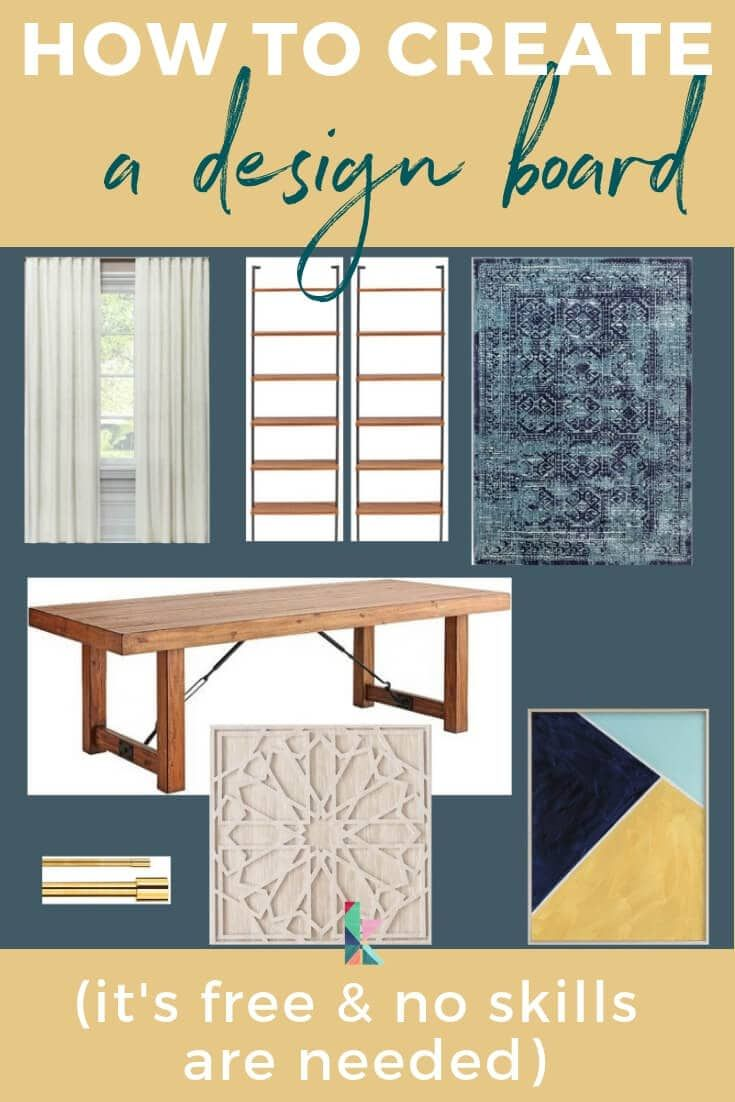 How To Make Design Boards (and why you need to!) | Diy home decor on a budget, Board design, Make design