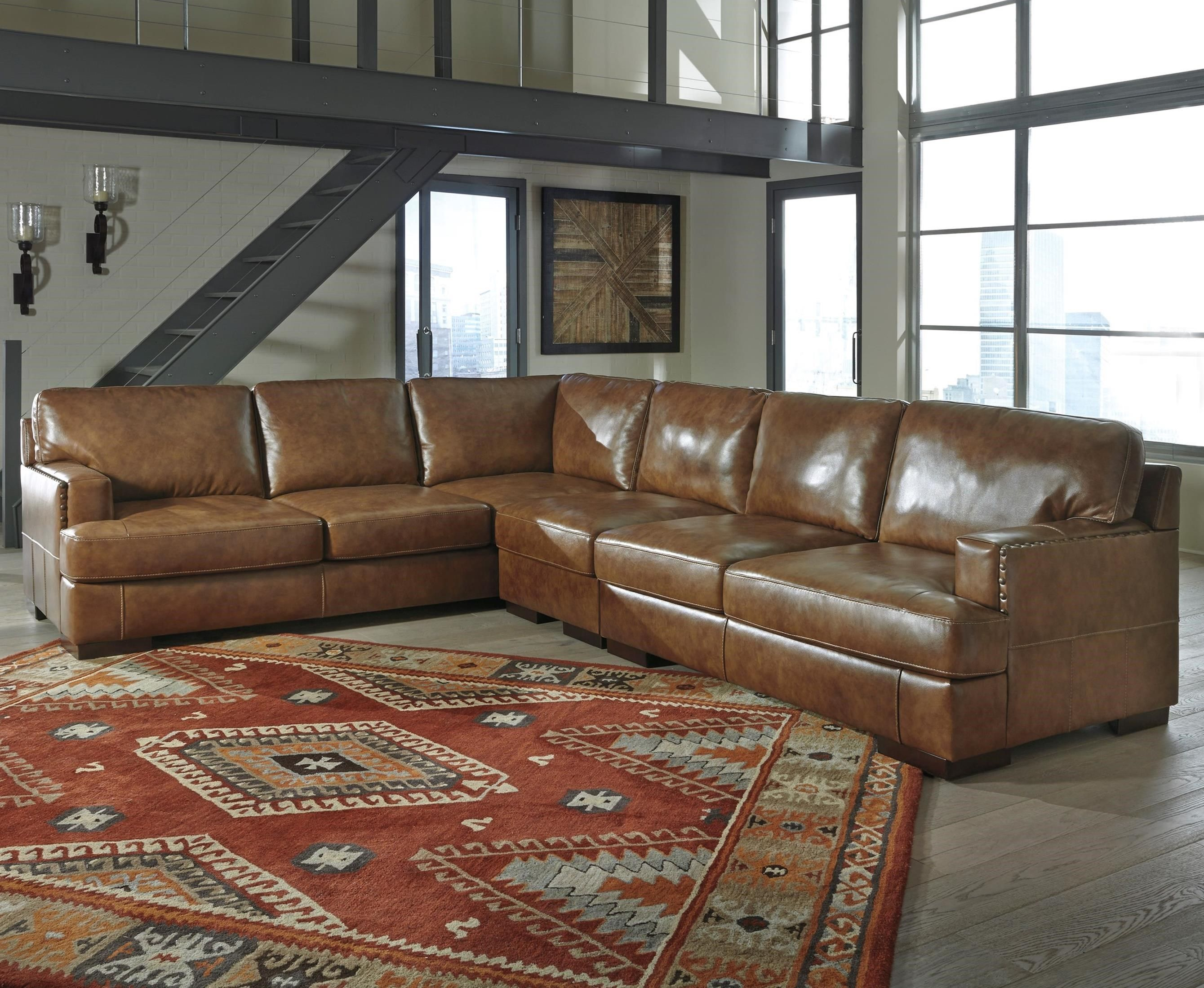 Vincenzo 3 Piece Sectional By Signature Design By Ashley At Beck S  ~ Ashley Laf Sofa Sectional