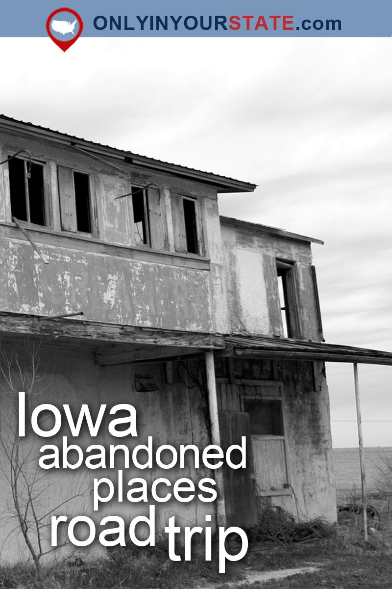 This Haunting Road Trip Through Iowa Ghost Towns Is One