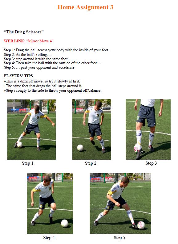 Home Assignment 3 Soccer Coaching Drills Soccer Coaching Football Drills
