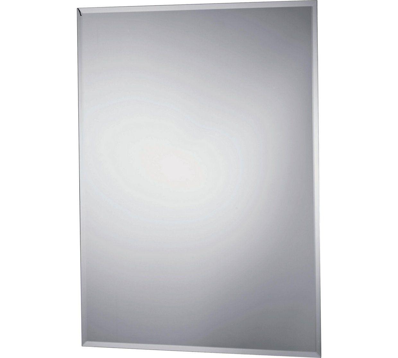 Buy Collection Rectangular Bevelled Bathroom Mirror - Silver ...