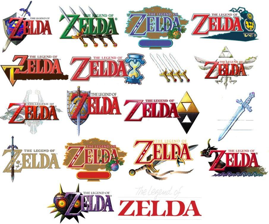 Image result for zelda logo Zelda logo, Games images, Games