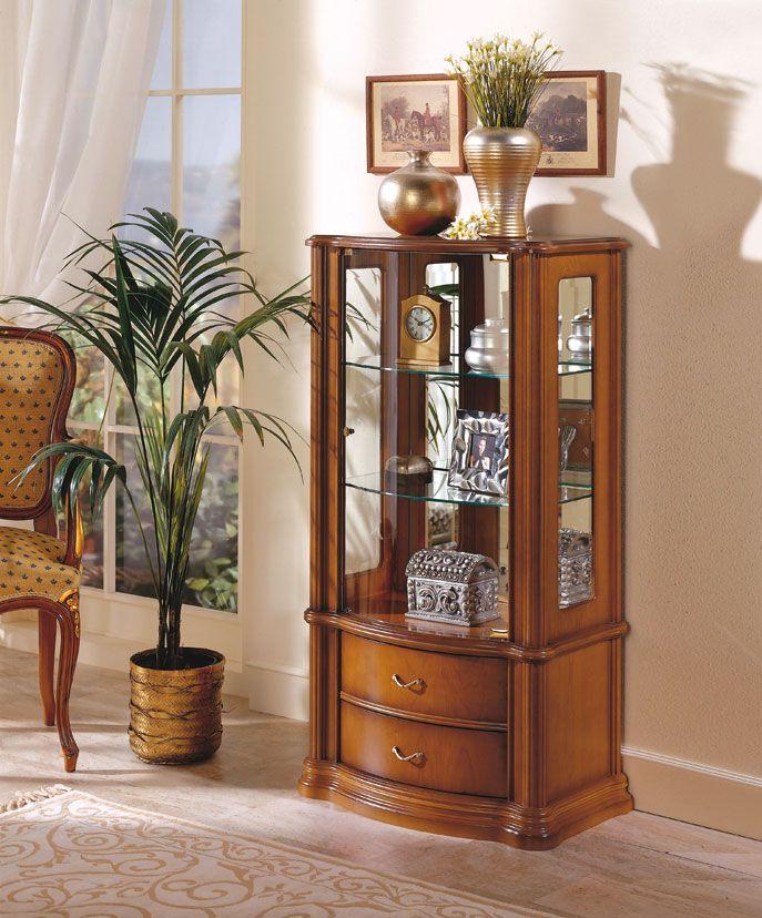 vitrina de chapa de cerezo | muebles | Pinterest | Cerezo, Vitrinas ...