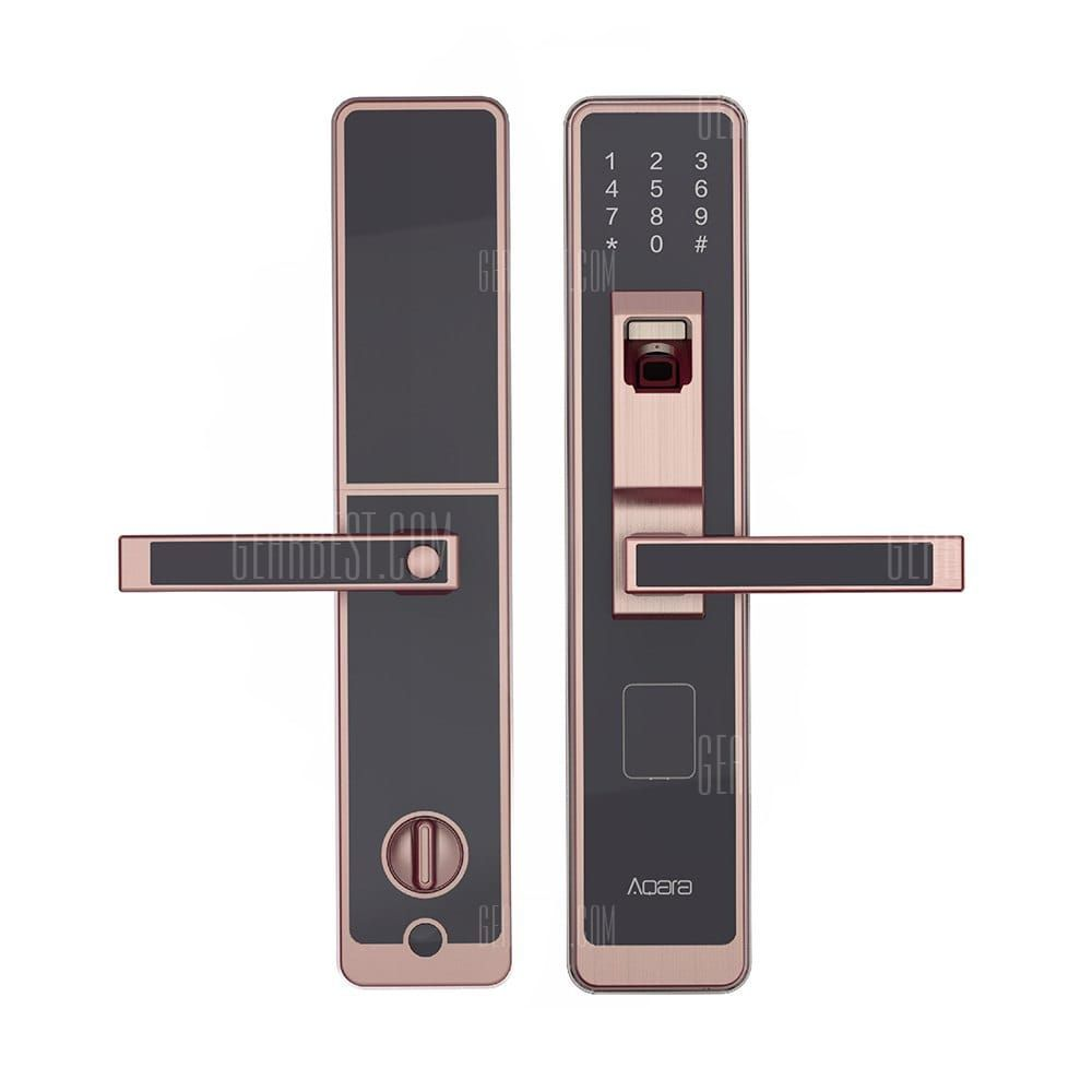 d9754e936290 Only  159.99,buy Xiaomi Aqara WiFi Fingerprint Smart Door Lock for Home  Security at GearBest Store with free shipping.