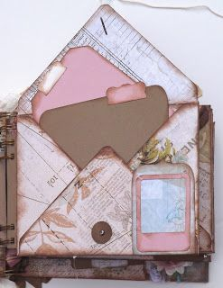 Pink Paislee Hope Chest Mini Album using the NEW!!!!! Envelope Punch Board