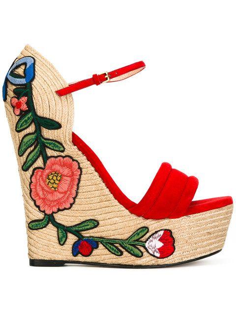 c668d552ed99c GUCCI espadrille wedge sandals.  gucci  shoes  sandals