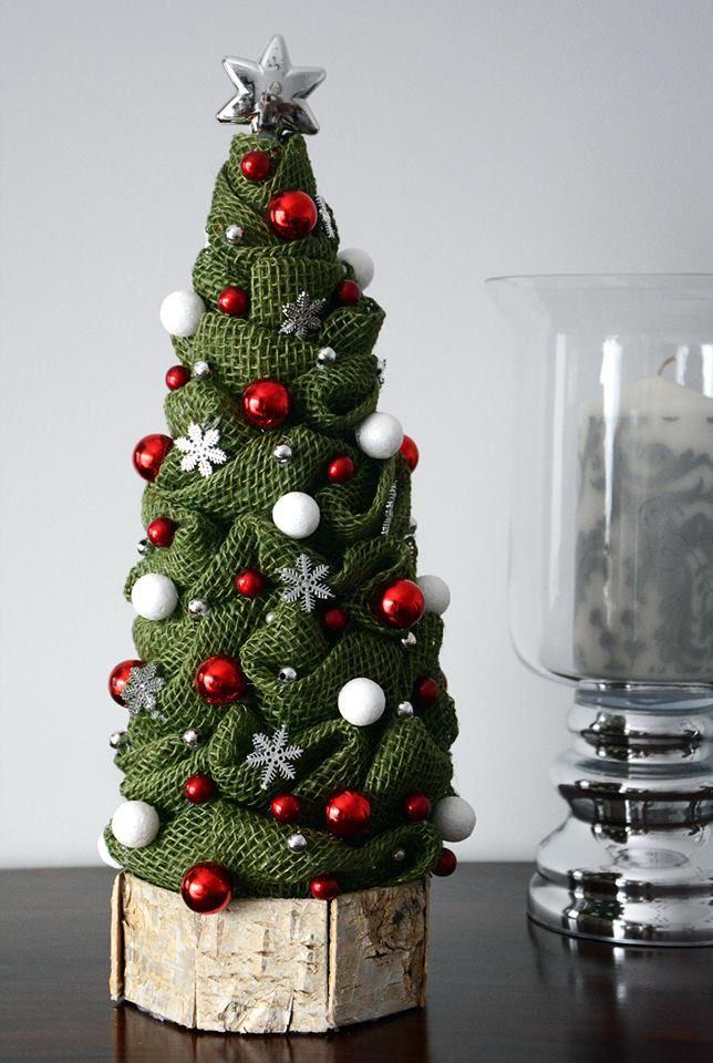 Choinka Znalezione Na Fb Easy Christmas Ornaments Christmas Centerpieces Christmas Tree Inspiration