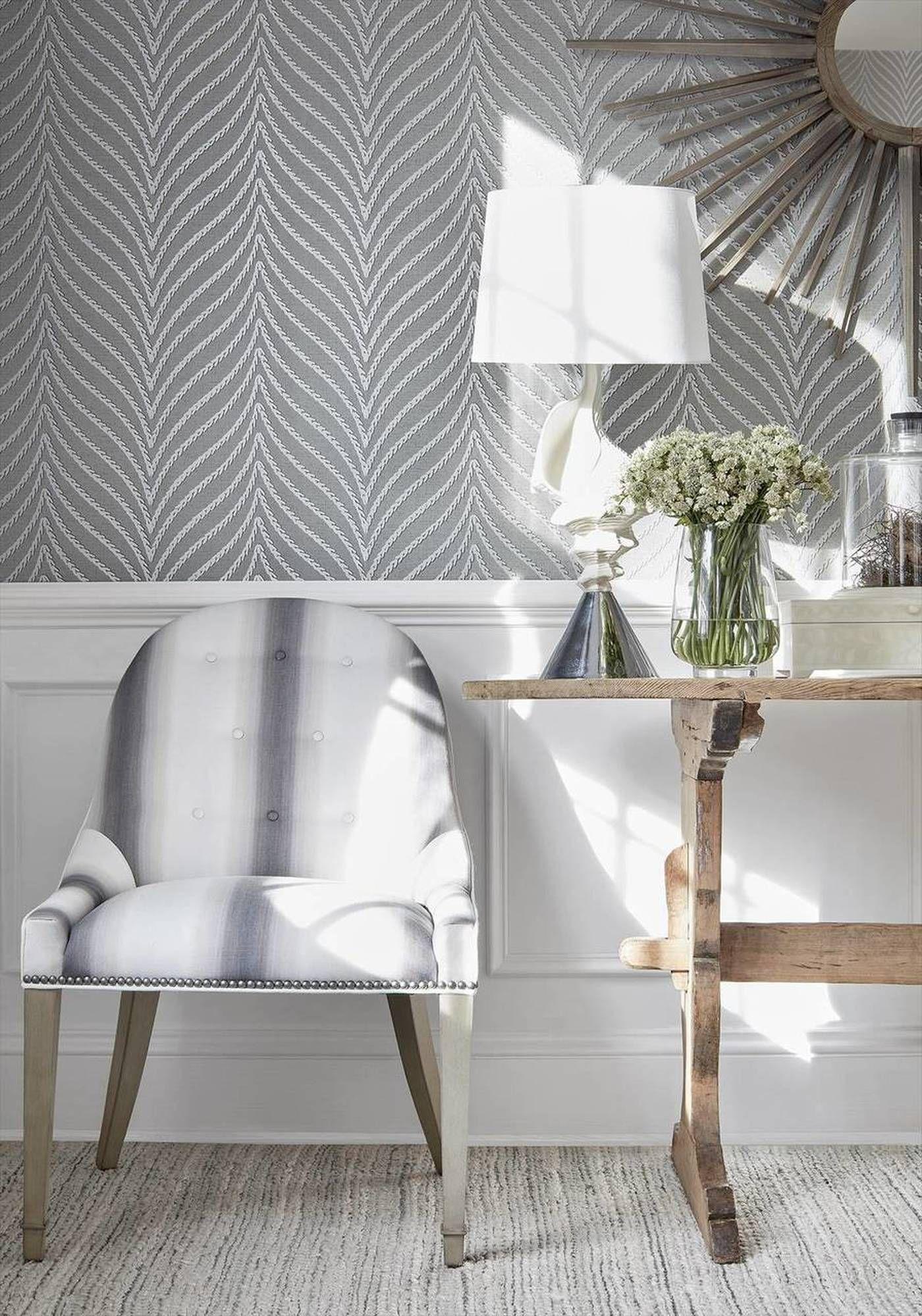 Clayton Herringbone Silver Charcoal In 2020 Grey Wallp