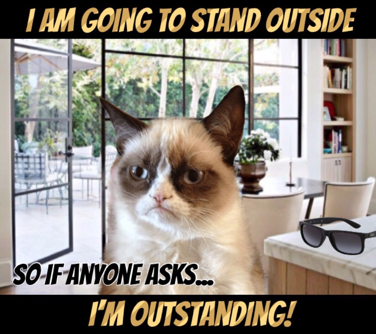 I'm Going To Stand Outside So If Anyone Asks... I'm