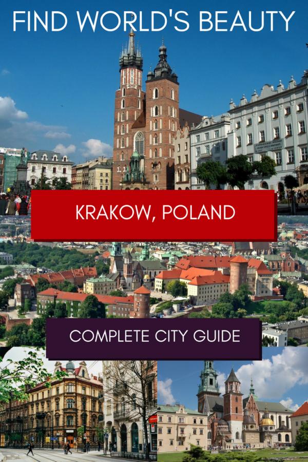 Kraków city guide the best things to do in Kraków
