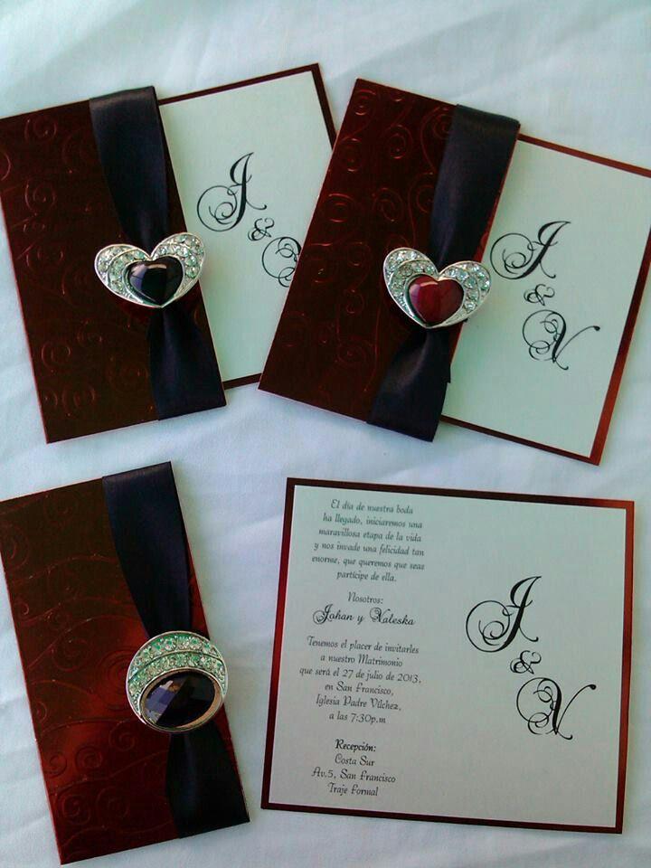 Invitaci n de bodas tarjeta de matrimonio invitaciones for Decoracion bodas baratas