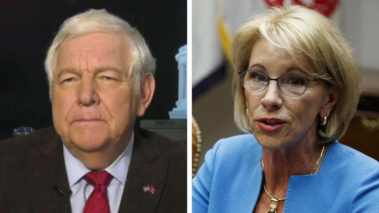 Fox News Bill Bennett Secretary Of Education Betsy Devos
