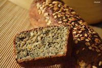 Mein Brot auf dem WildYeastBlog :) Golden Hamster Bread, Wheat Sourdough Seeds Bread ~ foodzeit