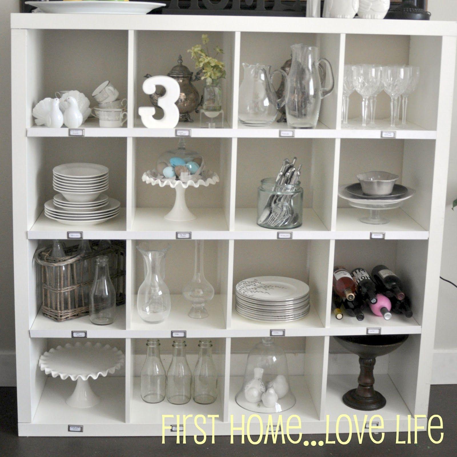 Pottery Barn Rip Off Using Ikea Cabinet. Cubby StorageBarn ...