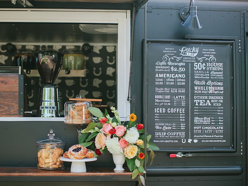 Coffee's up! This mobile coffee truck based in Austin is finally up and running. We did the branding about a year and a half ago. Super excited to reveal all the little details.  Check out the atta...