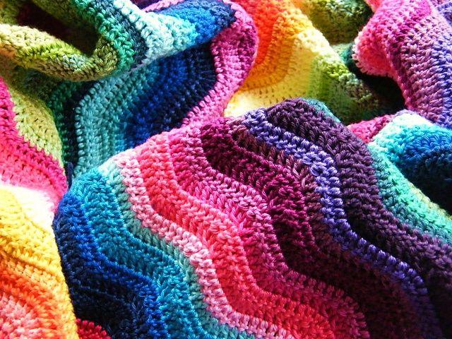 mantas tejidas a crochet pinterest - Buscar con Google | Proyectos ...