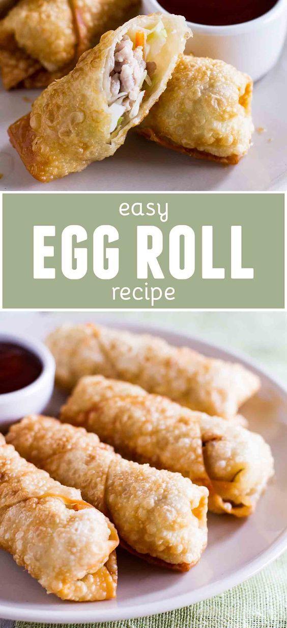 Easy Egg Roll images
