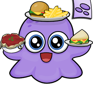 After Enjoying Moy App As A Pet Game Now This Cute Little Alien Monster Moy Is Back And He Runs A Restaurant T Restaurant Game Cooking Games Restaurant Themes