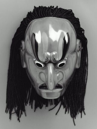 Bugaku mask of the Bato type  舞楽面 抜頭  Japanese, Edo period, 17th century, Material unidentified, MFA