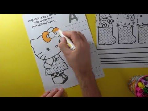 Hello Kitty Coloring Pages A B C Learning Colors And Site Words Worlds Biggest Fun Hello Kitty Colouring Pages Hello Kitty Coloring Hello Kitty