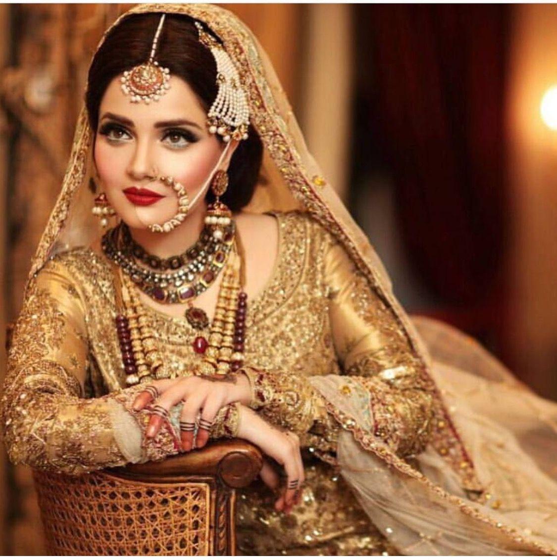 pakistani bride | kundan gold | libas in 2019 | pakistani