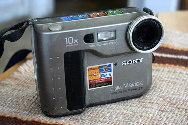 1998 Review Of Sony Mavica Shows How Far Digital Cameras Have Come Digital Camera Sony Best Digital Camera