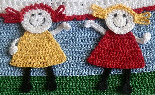Baby Girl Crochet Dress and Bonnet pattern by Annette Sanko