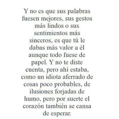 Desamor Frases En Espanol Spanish Quotes Textos Frases De Amor