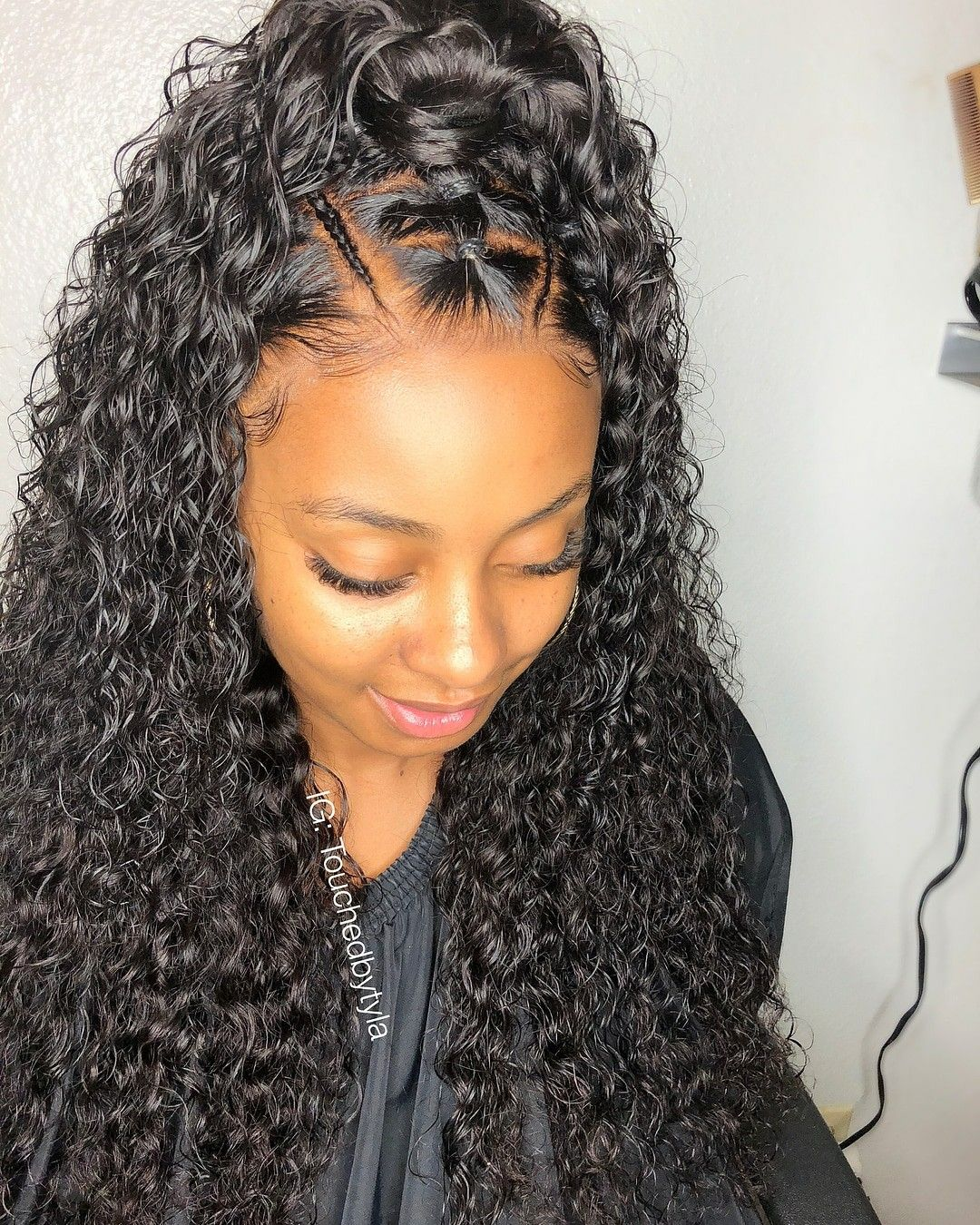 Brazilian deep wave lace wig place your order here stizzy