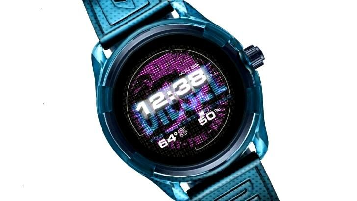 Diesels new Axial smartwatch has a translucent shell and smaller size -