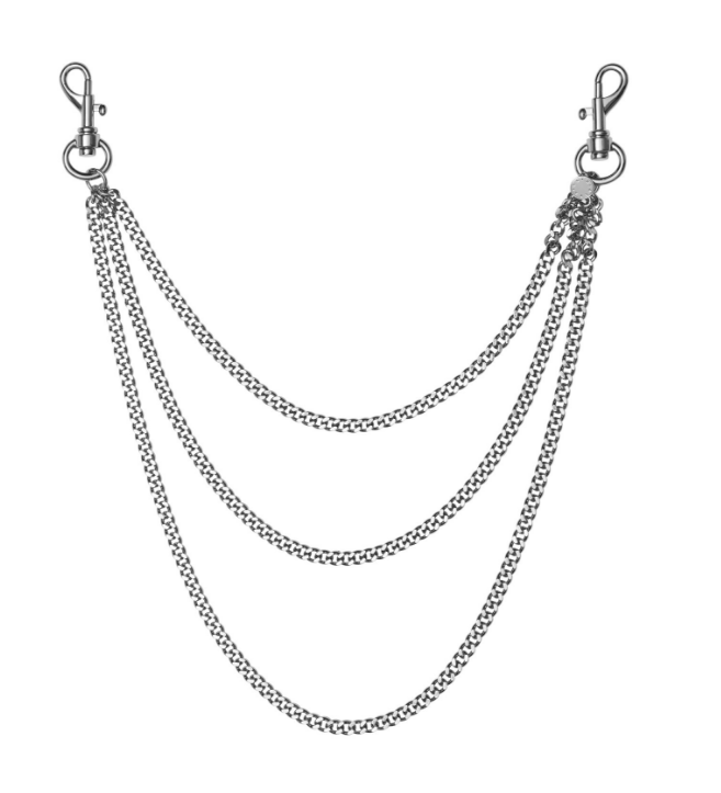 Wallet Chain Wallet Chain Chain Silver Necklace
