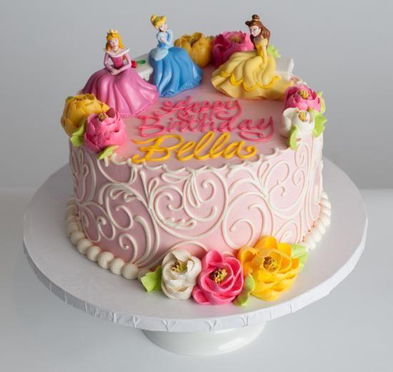 Disney Princess Cake (topper additional cost) Cake ideas ...