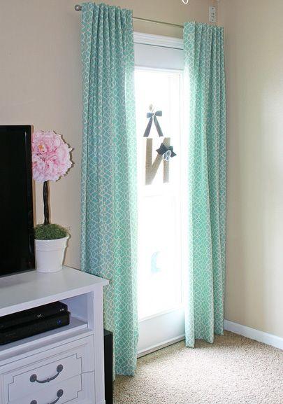 Cómo hacer cortinas y calcular la tela necesaria Cortinas by María