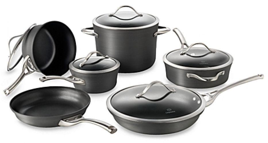 Calphalon contemporary nonstick 11piece cookware set