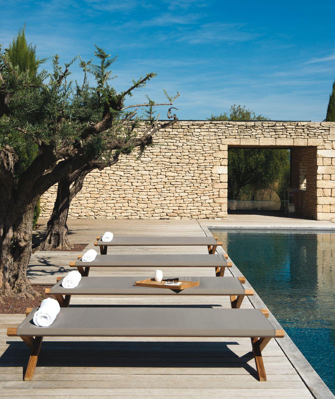 el t sonnenliegen von ethimo komplizierter name klares design f r strand und garten terrasse. Black Bedroom Furniture Sets. Home Design Ideas