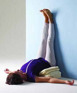 yoga postures for fatigue relief  iyengar yoga