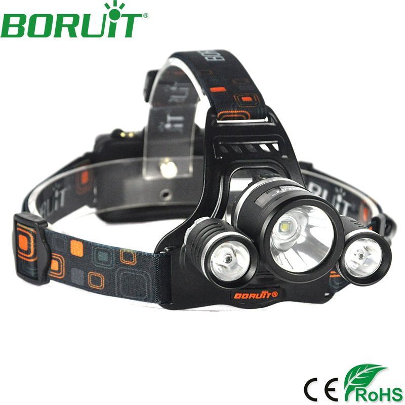 Check Price Boruit 5000lm L22r5 Led Headlight Adjustable 4 Mode Rechargeable Headlight Camping Running Headlamp