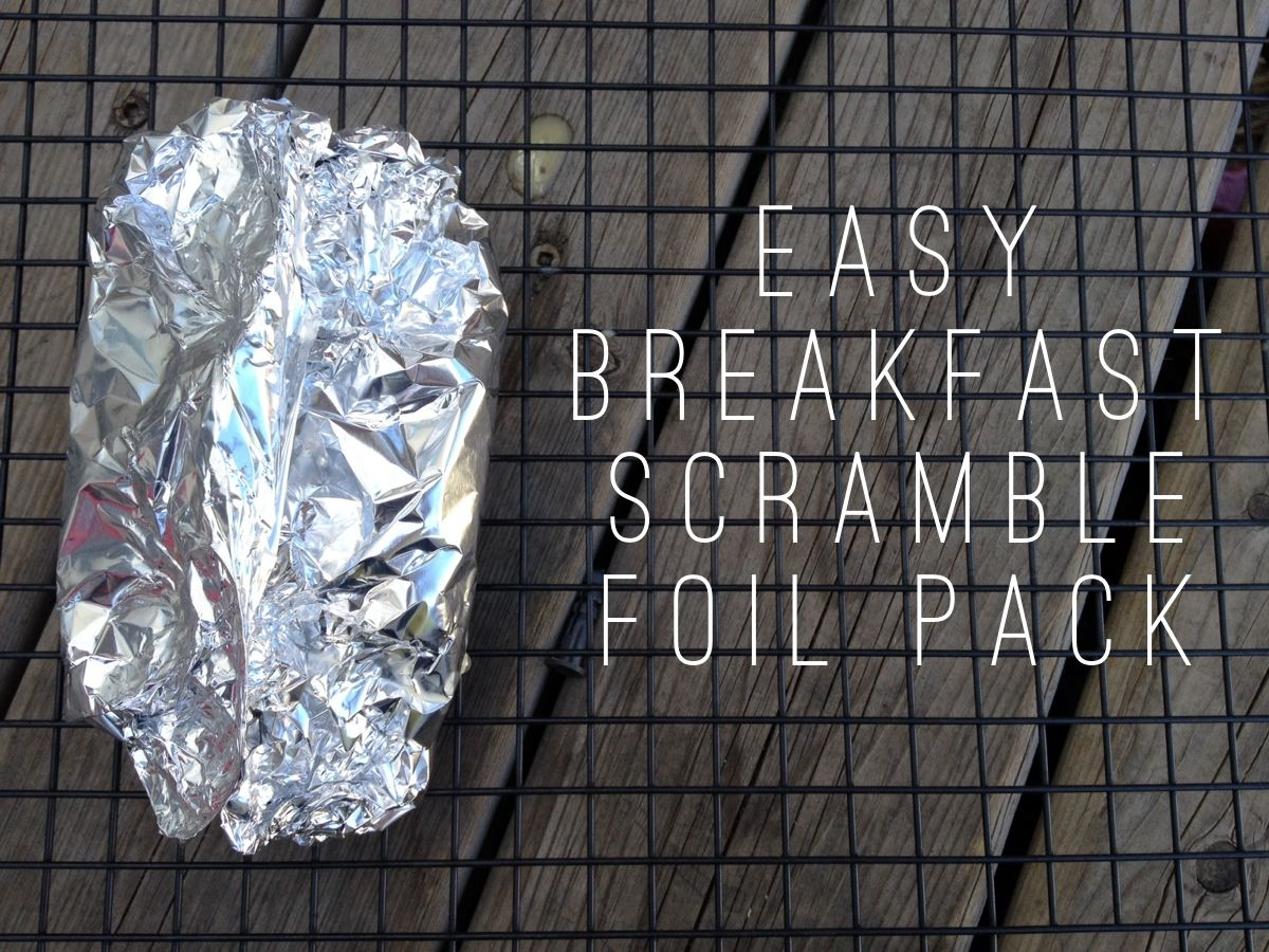 Camping Breakfasts Scrambled Egg Bacon Hashbrowns