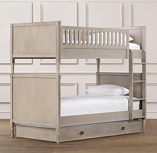 Best Emelia Twin Over Twin Bunk Bed Bunk Beds Restoration 400 x 300