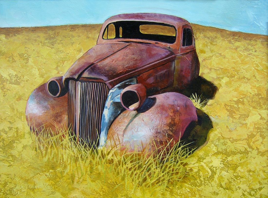 Pin by Miranda Beach on Art | Pinterest | Oil, Car painting and ...